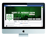 St. Patrick's Day Facebook Cover Photo