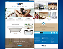 Website Redesign for Tubs Client