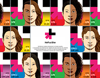 HeForShe Post Stamps