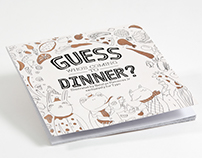 Сoloring book «Guess who's coming to dinner?»
