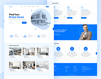 Homly - Real Estate Landing Page
