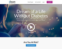 Dream Diabetes Website Design
