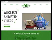 Web Design   Blue Broccoli Animated Studio