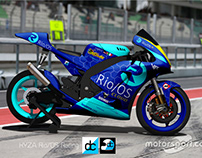 KYZA Rio Advancement Racing (Moto2) Team Branding