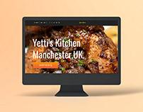 Yettis Kitchen Website