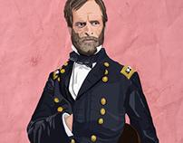 Illustration: Gen. William T. Sherman