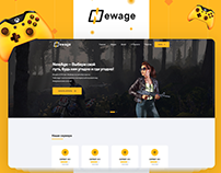 NewAge - Design Project UI/UX