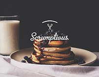 Scrumptious Home Bakery- Branding