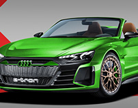 2020 Audi E-Tron GT Spyder
