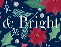 Merry & Bright Invitation