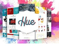 Hue - Creative Color and Mood Combination WordPress The