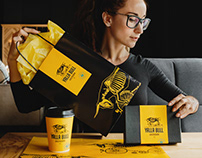 Branding for gastro bar Yalla Bull
