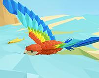 Google Blocks – Low Poly Animation