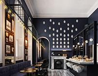 Stylish Cafe Design