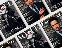 Vogue & Esquire Magazine Cover