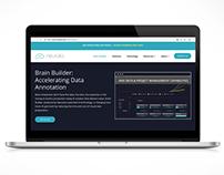 SaaS launch page, Neurala AI