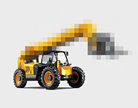 JCB. Toy for adults