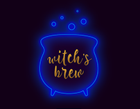 Witch's Brew Branding and UI (2016)