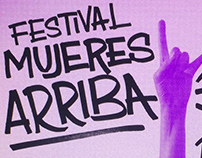 Festival Mujeres Arriba - Diseño gráfico
