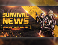 Gaming Banner For Fiverr Client