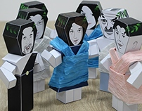 Paper Toy Animation