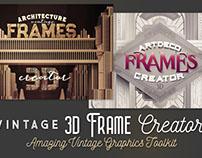 Vintage 3D Frame Creator