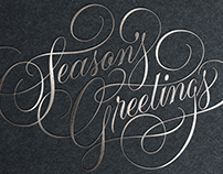 Hallmark Holiday Lettering
