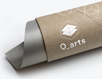 Q_arts arquitetura / Architecture Studio Brand Identity