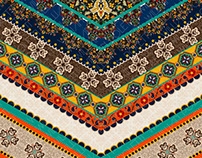 #53 || Colorfull Floral-Ethnic Ornaments.