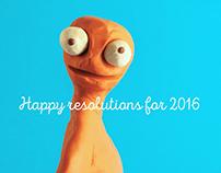 HAPPY RESOLUTIONS 2016
