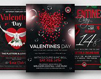 Valentines Day Flyer Bundle V2