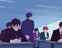 『京都産業大学ブランディングポスター 1月』