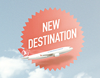 Turkish Cargo / New Destinations Print Ad