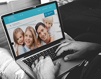 LAKESIDE DENTAL WEB DESIGN