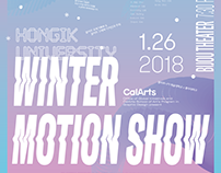Calarts & Hongik University Winter Motion Show 2018