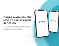 Order management Mobile application redesign