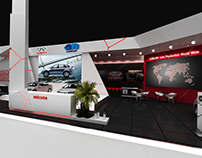 chery automobile booth at Cairo motor show 2016