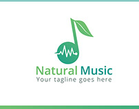Natural Music — logo & brand identity design