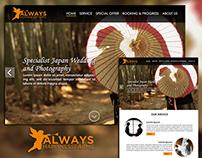Website Design for ALWAYS HAPPINESFARM