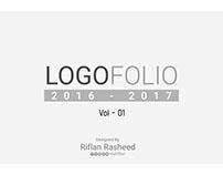 LOGOFOLIO (2016 -2017 ) Vol - 01