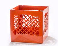 Steel Milk Crates