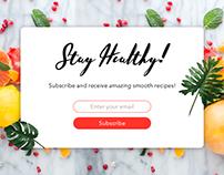 DailyUI | Subscription