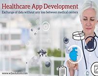 #HealthcareAppDevelopment - Exchange of data