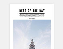 Best of the bay - Magazine Spread //