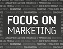 Focus on Marketing - Event Poster