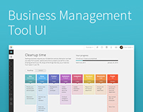 Big S: Design of a Business Management Tool UI