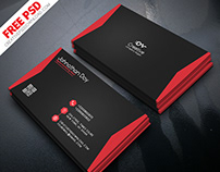 Digital Marketing Business Card Free PSD