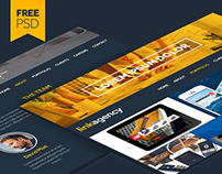 Link Agency Free PSD Template