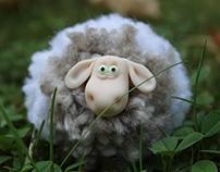 A lucky sheep