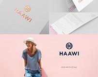 Brand Development for Fashion Brand // HAAWI
